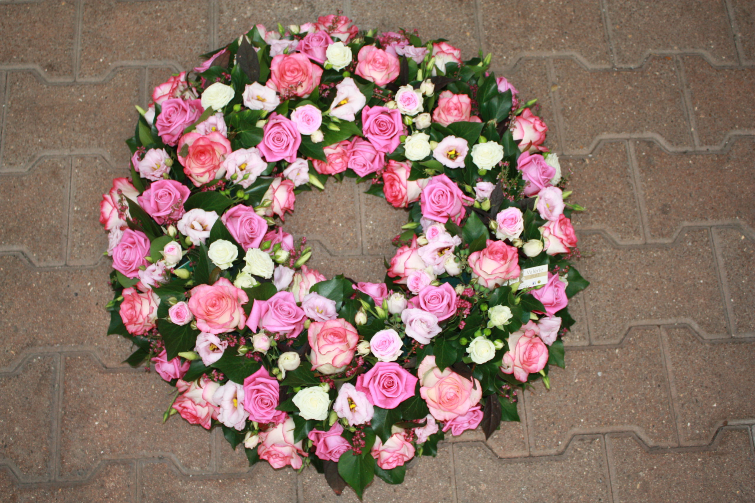 Couronne : Roses rose